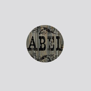 Abel, Western Themed Mini Button
