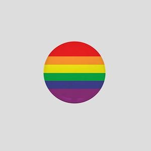 Gay Pride Flag Mini Button