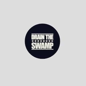 Drain the Swamp Mini Button