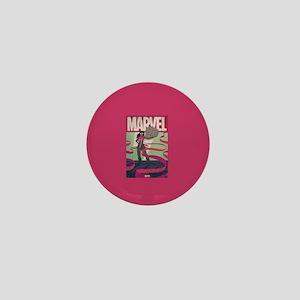 Ms. Marvel Retro Mini Button