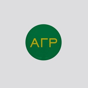 Alpha Gamma Rho Letters Mini Button