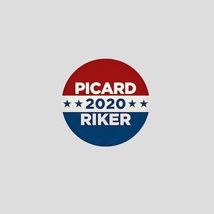 Star Trek Picard Riker 2020 Mini Button