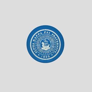 Alpha Kappa Psi Logo Mini Button