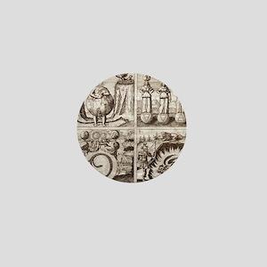 Emblems from Mylius' Philosophia refor Mini Button