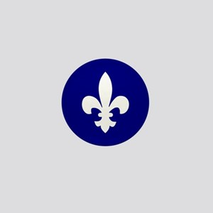 Acadiana Flag Louisiana Mini Button