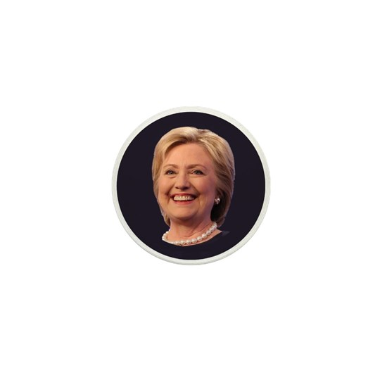 hillary smiling