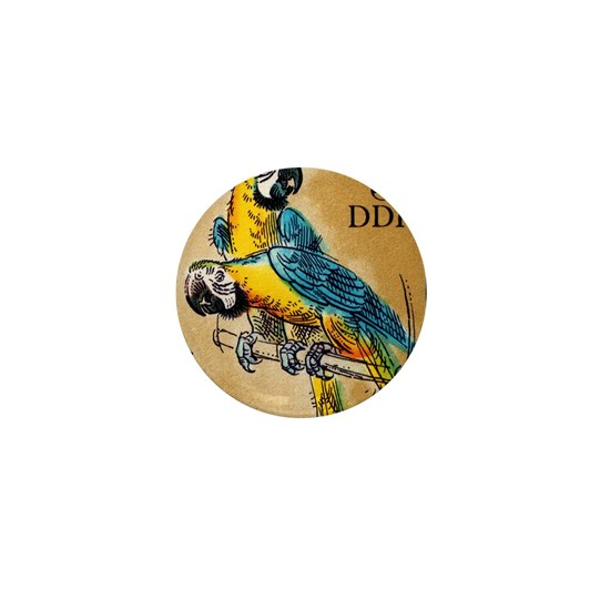 1975 Germany Zoo Macaw Parrot Postage Stamp
