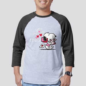 Snoopy - You Are So Loved Mens Baseball Tee