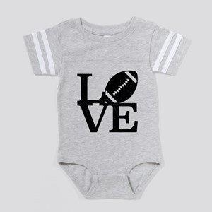 Love Baby Football Bodysuit