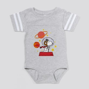Space Snoopy Baby Football Bodysuit