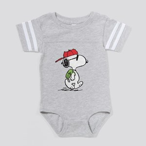 Peanuts Back to School Baby Football Bodysuit