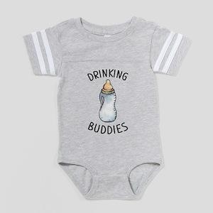 Drinking Buddies Milk Family Matching Baby Footbal