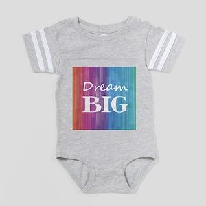 Dream Big Baby Football Bodysuit