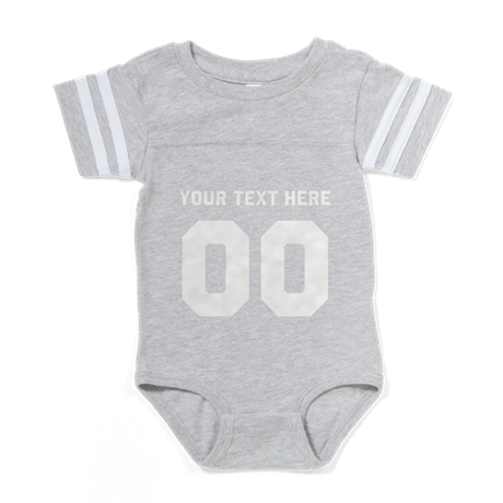 design Baby Football Bodysuit