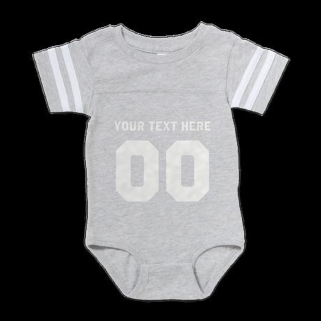 design Baby Football Bodysuit