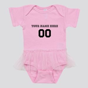Personalized Baseball Baby Tutu Bodysuit