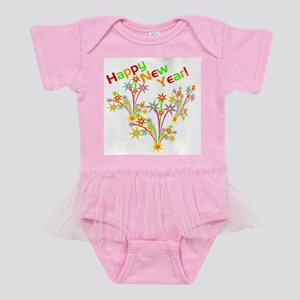 Happy New Year Tshirts and Gifts Baby Tutu Bodysui