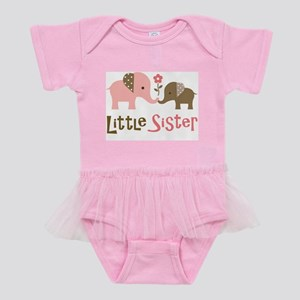 LSModElephant2 Baby Tutu Bodysuit