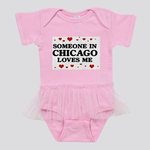 Chicago Baby Tutu Bodysuit