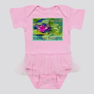Massage Therapist / Water Lily Baby Tutu Bodysuit