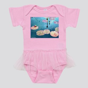 Water Lilies! Nature Photo! Baby Tutu Bodysuit
