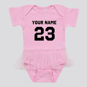8e00e4b9227 Custom Sports Jersey Number. Baby Tutu Bodysuit