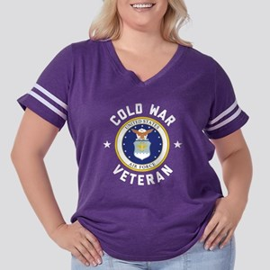 Air Force Cold  Women's Plus Size Football T-Shirt