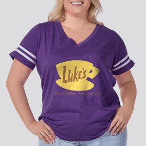 Gilmore Girls L Women's Plus Size Football T-Shirt