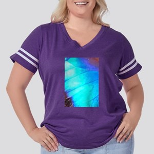 Blue Wing Women's Plus Size Football T-Shirt