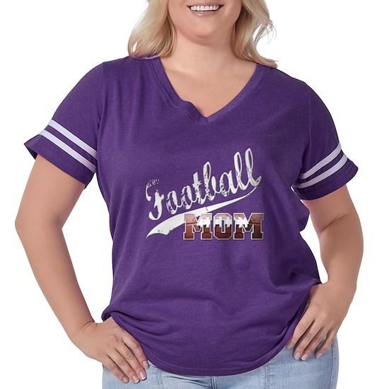 Football Mom White