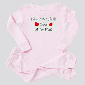Head over heels Baby Pajamas