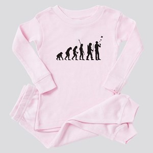 Pipe Smoker Baby Pink Pajamas