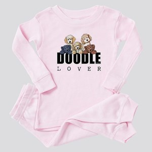Doodle Lover Baby Pajamas