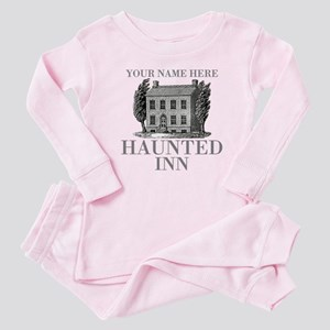 Haunted Inn Baby Pink Pajamas