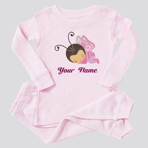Personalized Baby Butterfly Baby Pajamas