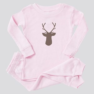 Deer Head Baby Pajamas