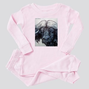 Water Buffalo! Animal art! Pajamas