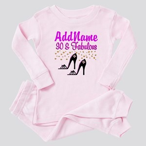 30TH HIGH HEEL Baby Pajamas