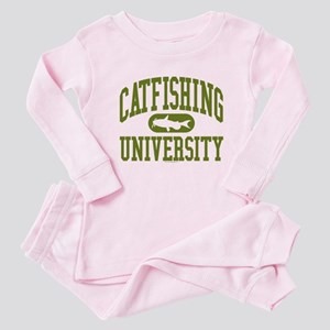 CATFISHING UNIVERSITY Baby Pajamas