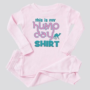 Happy Hump Day Baby Pajamas - CafePress