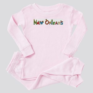 New Orleans Baby Pajamas