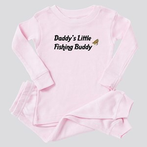 Daddy's Little Fishing Buddy Baby Pajamas
