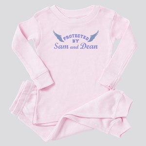 SUPERNATURAL Sam and Dean blue Baby Pajamas