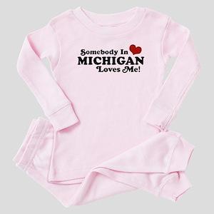 84adb5ddd8bf Funny Valentines Day Baby Pajamas - CafePress