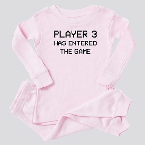 Player 3 Has Entered The Game Baby Pajamas Suit