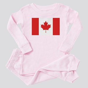 Flag of Canada Baby Pajamas