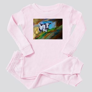 Cow! Bright, animal art! Pajamas