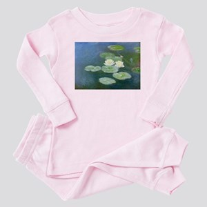 Claude Monet Water Lilies Baby Pajamas