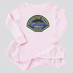 Huntington Beach Police Baby Pajamas