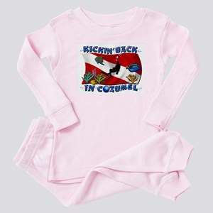 Generic Dive Flag Pocket Baby Pajamas